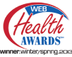 Winter/Spring 2013 Web Health Awards Winner