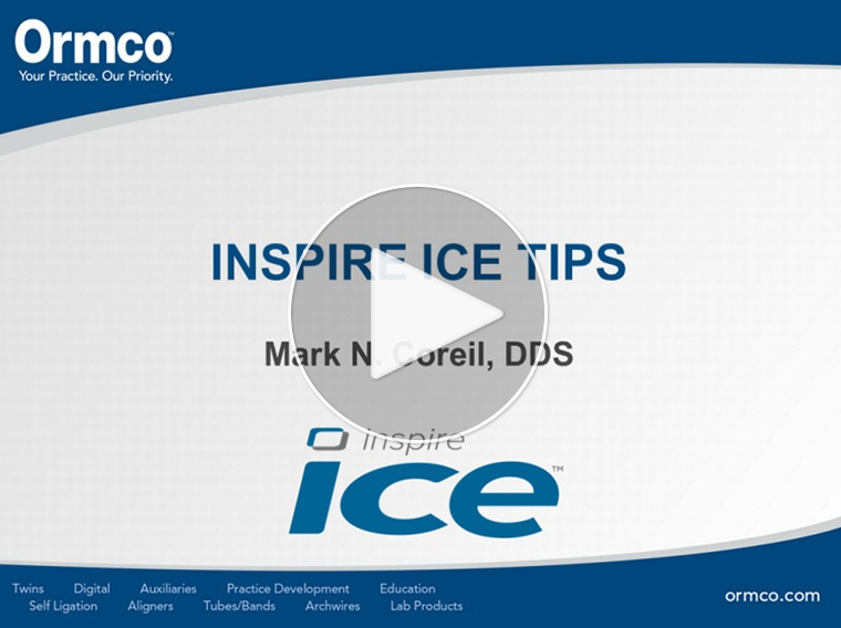 Inspire ICE Tips and Tricks
